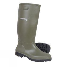 Men's Green Wellington Boot