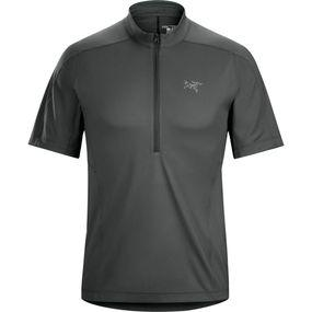 Men's Velox Zip Neck Short Sleeve Shirt